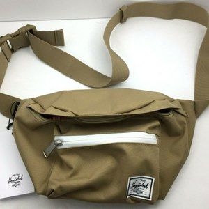 Herschel Seventeen Hip Waist Bag Kelp Saddle NWT